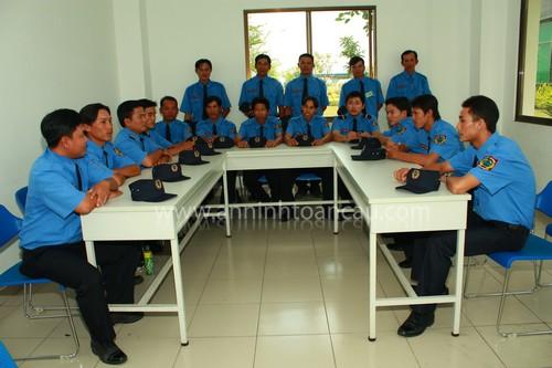 Huấn luyện nội bội tại Văn Phòng - An Ninh Toàn Cầu